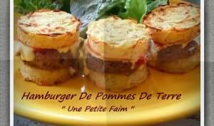 Hamburger de pommes de terre