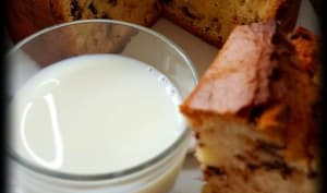 Gâteau verre de lait