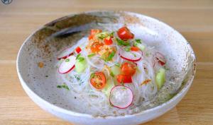 Vermicelles de soja er ses petits légumes
