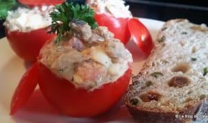 Tomates farcies aux sardines