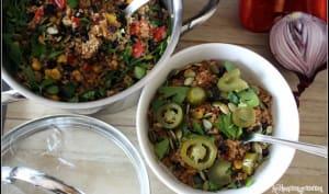 One pot quinoa à la mexicaine