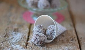 Chokladbollar comme en Suède