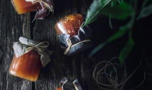 Confitures de pommes et fleurs de sureau