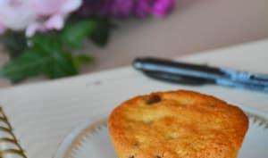 Muffins coco aux pépites de chocolat