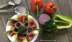 Salade de riz à la niçoise