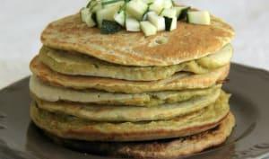 Pancakes à la courgettes