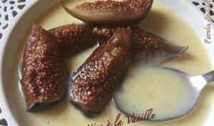 Figues rôties à la vanille