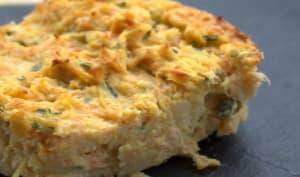 Gratin de saumon aux pommes de terre