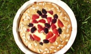Mi-gâteau à la noisette & mi-cheesecake