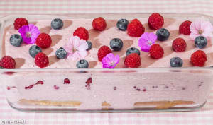 Charlotte framboises fraises
