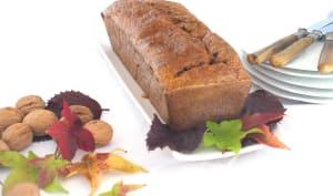 Cake au potiron et noix sans lactose