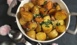 Pommes de terre à la fleur de sel de Guérande à la cocotte