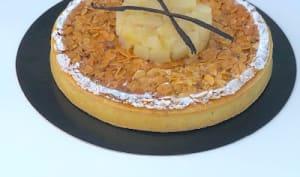 Tarte Bourdaloue au miel
