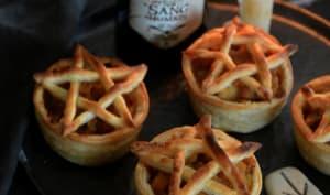 Tartelettes de sorcières à la pomme, potiron et épices