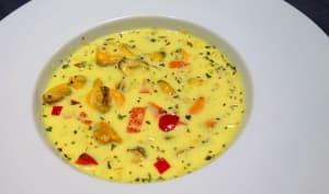 Soupe de moules à la citronnelle