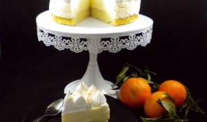 Le gâteau nuage aux clémentines