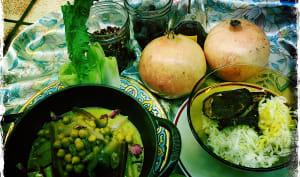 Pav bhaji masala aux bahmyas et citron vert