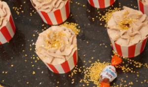 Cupcake de Noël aux chocolats Schokobons et marron