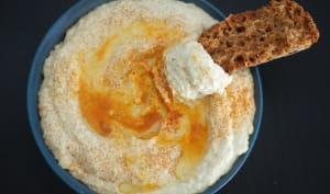 Houmous à l'huile d'olive ou au fromage blanc de brebis