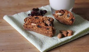 Biscotti amandes canneberges