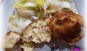 Muffins reblochon et lardons