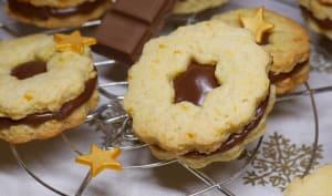 Biscuits de Noël orange pralinoise