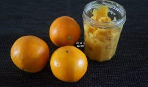 Confit d'orange