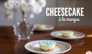 Cheesecake à la mangue