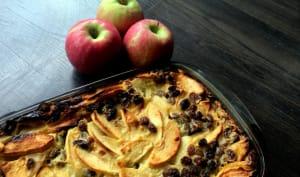 Far aux pommes et raisins secs