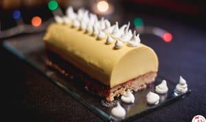 Cheesecake de Noël à la mangue