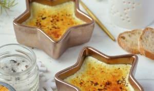 Crème brûlée aux champignons
