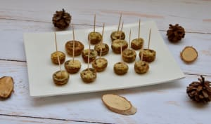 Champignons de Paris rôtis au parmesan