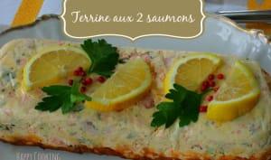 Terrine aux 2 saumons