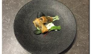 Croustillants d'escargots à la crème de persil et d'ail