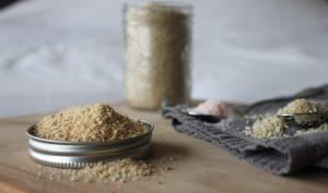 Gomasio, sel au sésame japonais