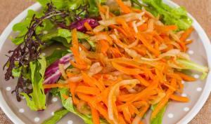 Salade de carottes rapées à la poire de terre