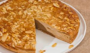 Gâteau facile à la poire de terre ou yacon aux amandes