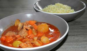 Carbonnades à la sauce tomate