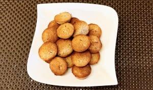 Biscuits fondants orange et cannelle
