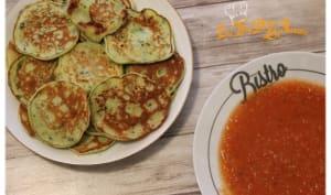 Pancakes aux épinards et Ricotta