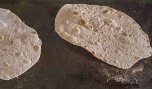 Chapati, roti ou pain indien