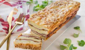 Croque cake comté viande des Grisons