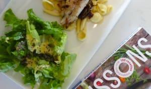 Filets de merlan à la sauce balsamique