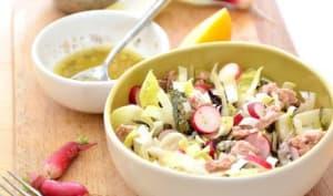 Salade croquante aux saveurs marines