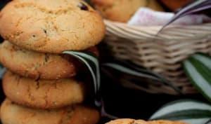 Cookies à la farine de souchet et de pois-chiche