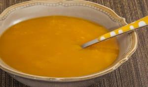 Soupe de courge butternut aux topinambours