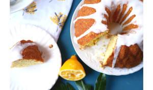 Gâteau au citron Meyer entier