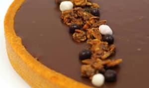 Tarte choco crousty
