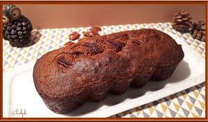 Cake aux noix de Pécan et sirop d'Erable