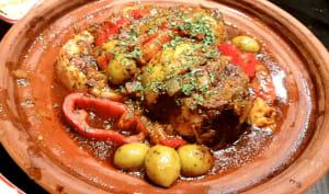 Espadon au four avec charmoula Marocaine
